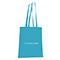 Shopper in cotone Basic - verde acqua