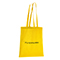 Shopper in cotone Basic - giallo