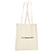 Shopper in cotone Basic - naturale
