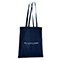 Shopper in cotone Basic - navy