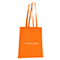 Shopper in cotone Basic - arancione