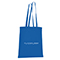 Shopper in cotone Basic - blu reale