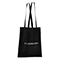 Shopper in cotone Basic - nero