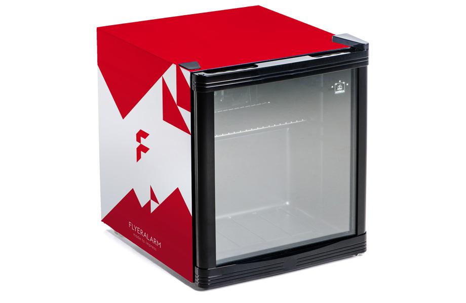 Mini Kühlschrank Mit Glas : Minikühlschränke günstig schnell bedrucken bei flyeralarm
