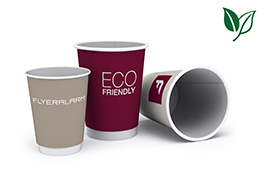 Organic double-walled cups