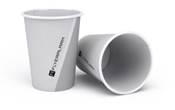 Beverage cups, single-walled