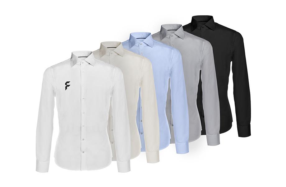 Fit Slim Roos Zwarte Overhemd Deluxe WD92YIHEe