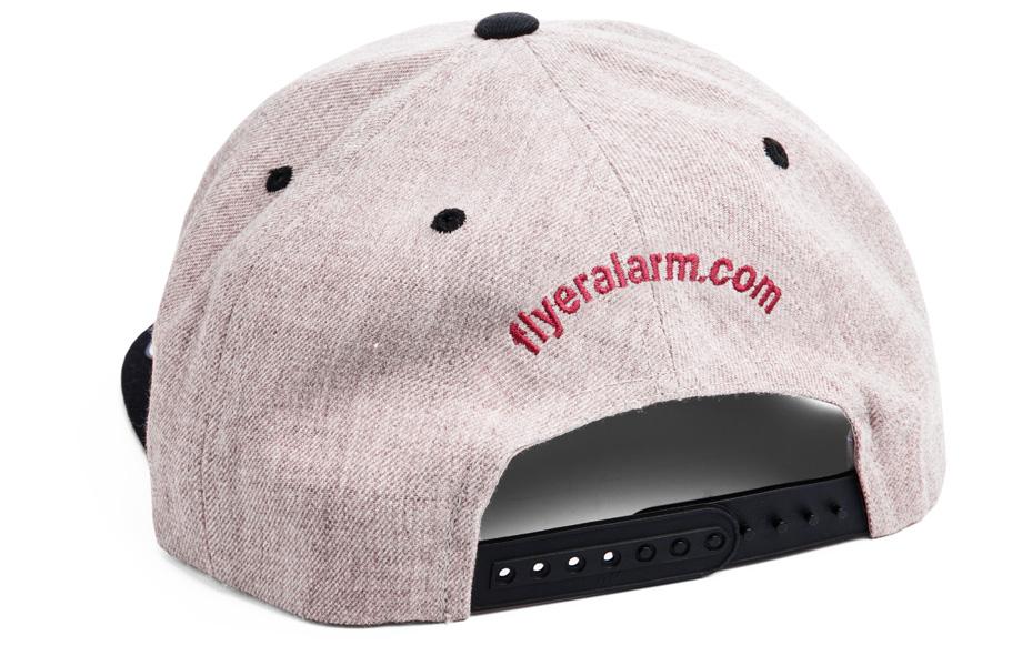 7551e5cc7e Snapback sapka online hímzéssel FLYERALARM-tól