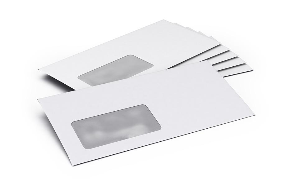 Haftklebende Briefumschläge Mit Fenster Bedrucken Bei Flyeralarm