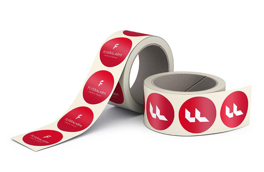 etiketten auf rolle online bedrucken bei flyeralarm. Black Bedroom Furniture Sets. Home Design Ideas