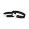 Tyvek wrist band, unprinted black