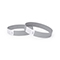 Tyvek wrist band, unprinted silver