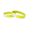 Tyvek wrist band, unprinted neon yellow