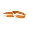 Tyvek wrist band, unprinted  neon orange
