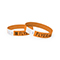 Tyvek wrist band, neon orange