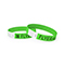 Tyvek wrist band, neon green