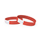 Tyvek wrist band, unprinted  red