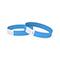 Tyvek wrist band, unprinted blue