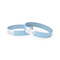 Tyvek wrist band, unprinted light blue