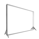 Stretching frame displays, system