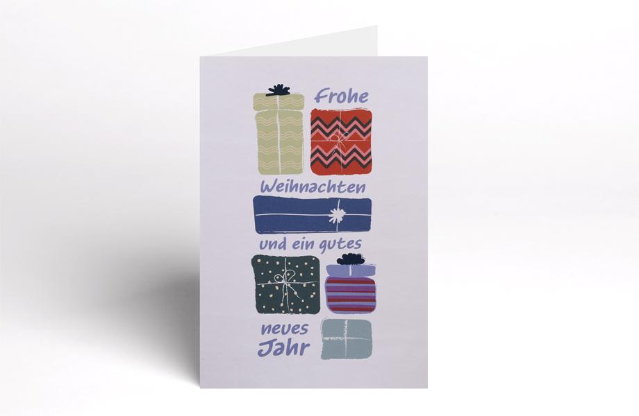 weihnachtskarten mit design blanko bestellen bei flyeralarm. Black Bedroom Furniture Sets. Home Design Ideas