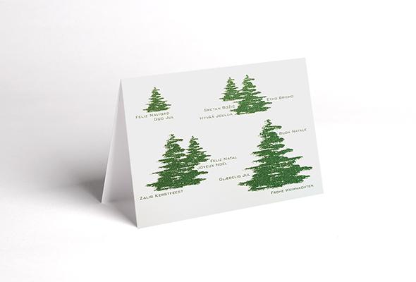 Weihnachtskarten modern - Moderne weihnachtskarten ...