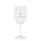 Classic red wine glass, silver