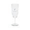 Basic champagne glass, silver