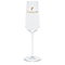Premium champagne glass, gold