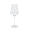 Modern water glass, silver