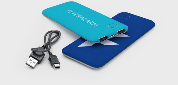 Powerbanks 5000 mAh Softtouch