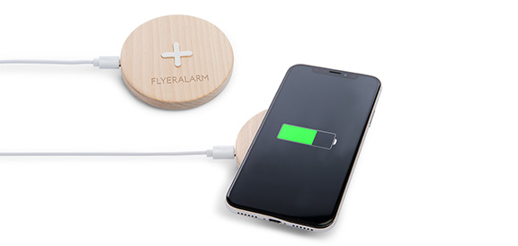 Wireless Charger Holz