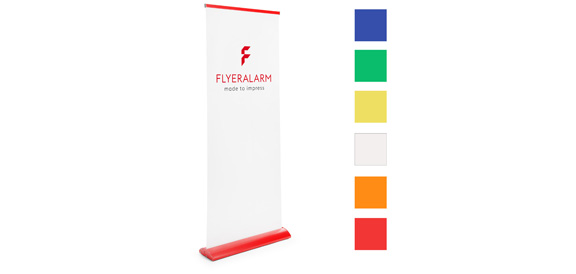 Roll-Up Color, System inkl. Druck