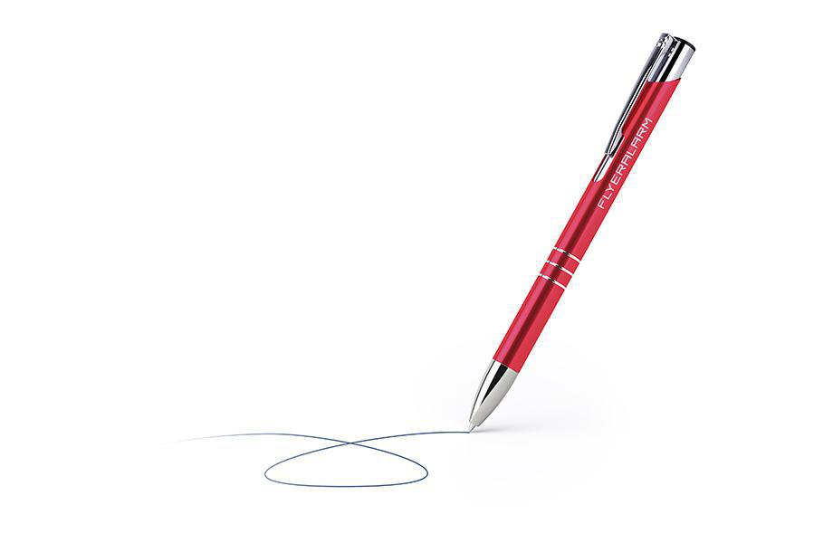 Classic pens - red