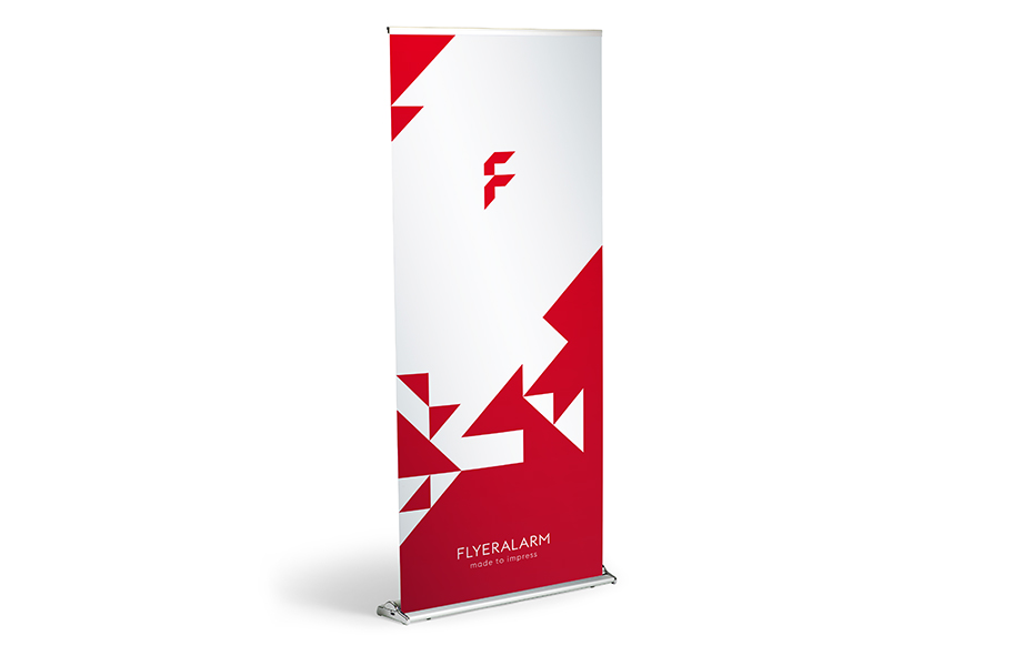 Comfort roller banners, mechanism and print