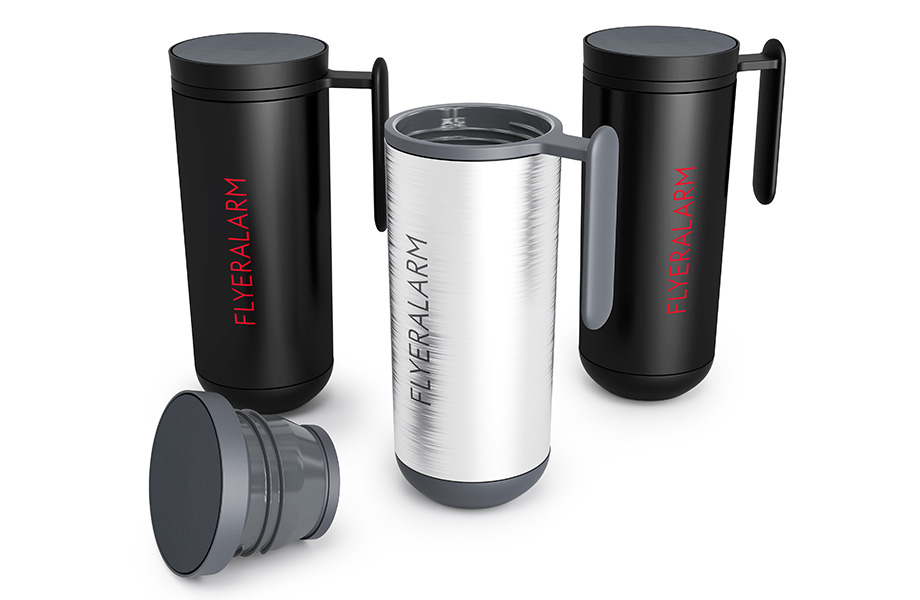 Travel mugs with handle