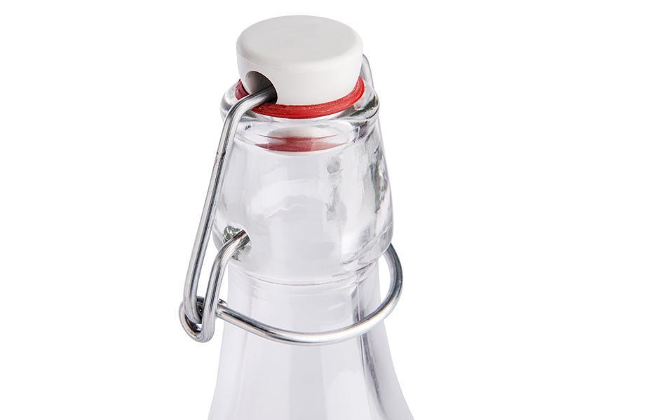 glasflaschen mit b gelverschluss g nstig und schnell bei flyeralarm. Black Bedroom Furniture Sets. Home Design Ideas