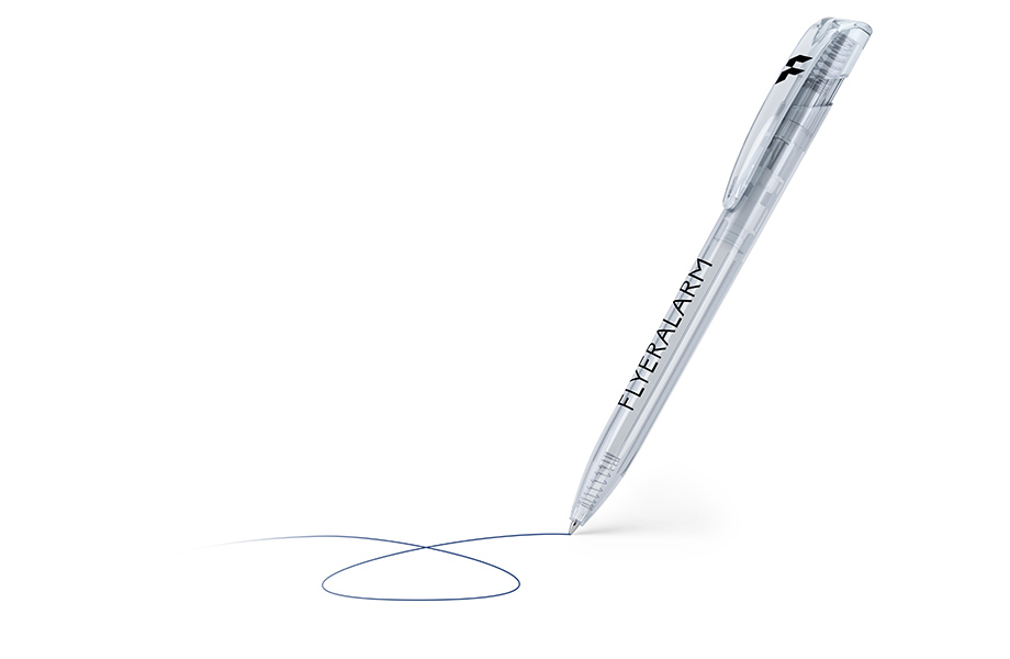 Clear pen, basic range - low-cost and quick at FLYERALARM