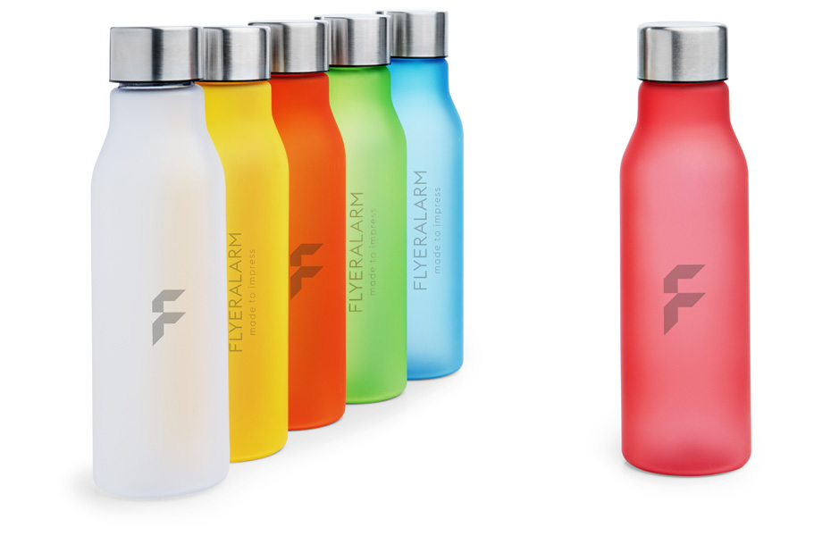 Frosted-look drinks bottles