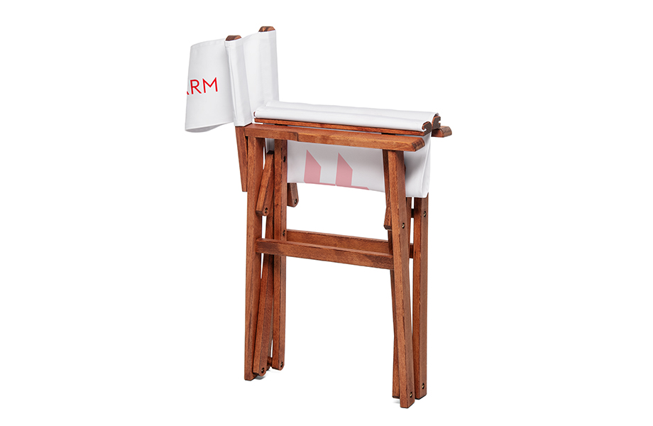 Krzesło reżyserskie, system z drukiem drukuj na FLYERALARM