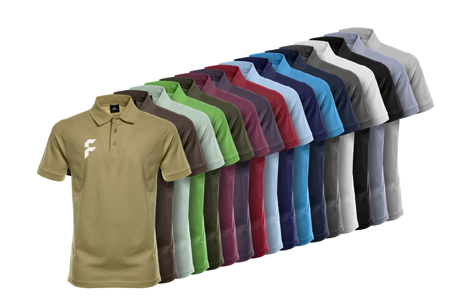 Premium heren stretch poloshirts