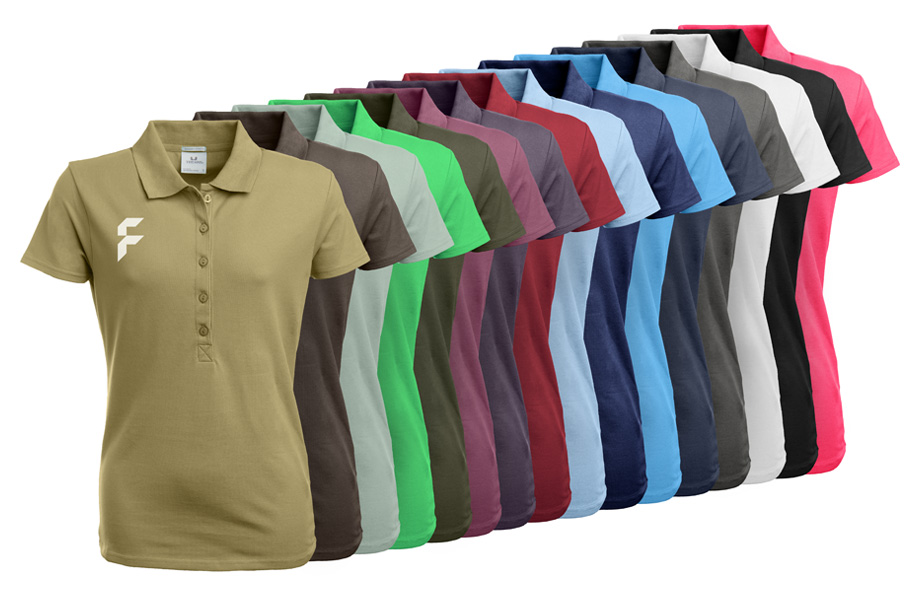 Poloshirt Premium Damen Stretch