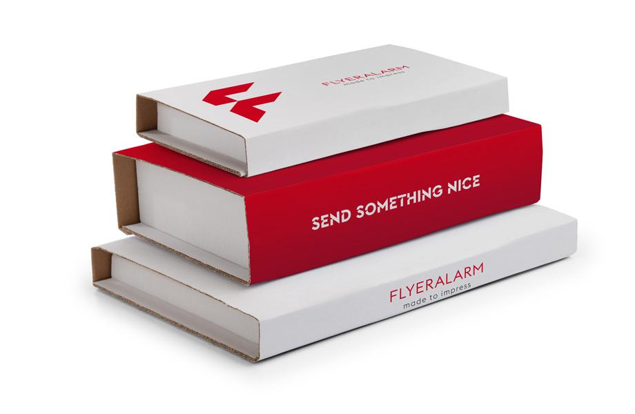 Universal-Versandverpackungen ab 1 Stück bei FLYERALARM