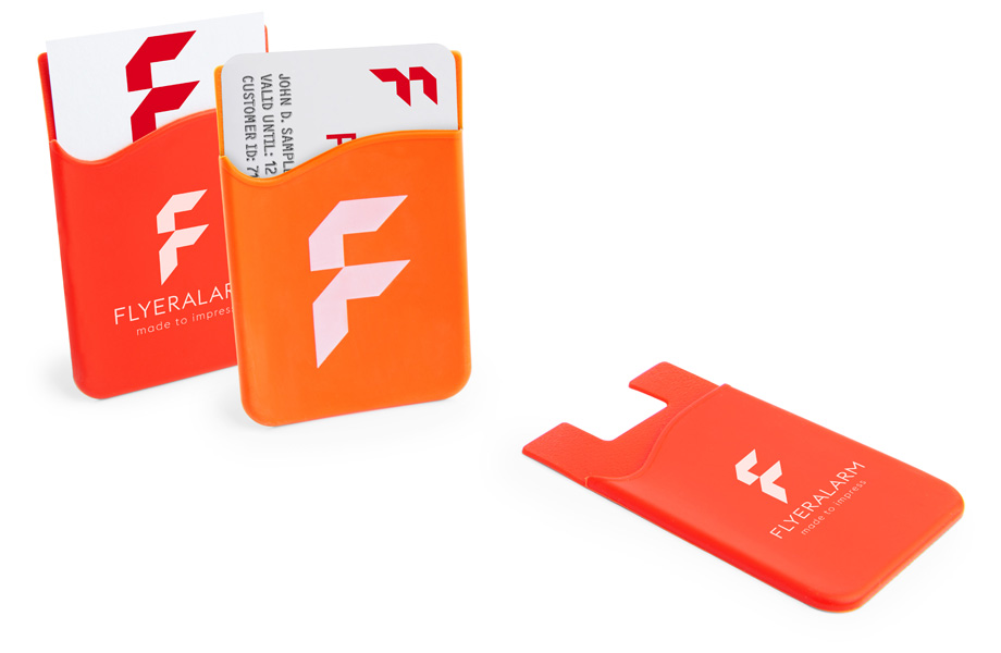 Mobile phone card holders