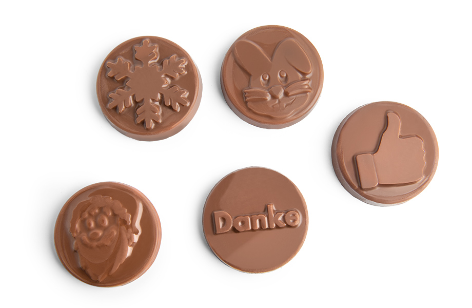 Moneda de chocolate