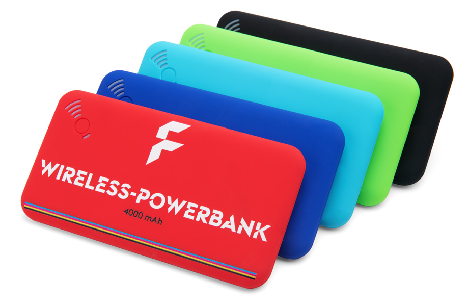 Wireless Powerbanks 4000 mAh