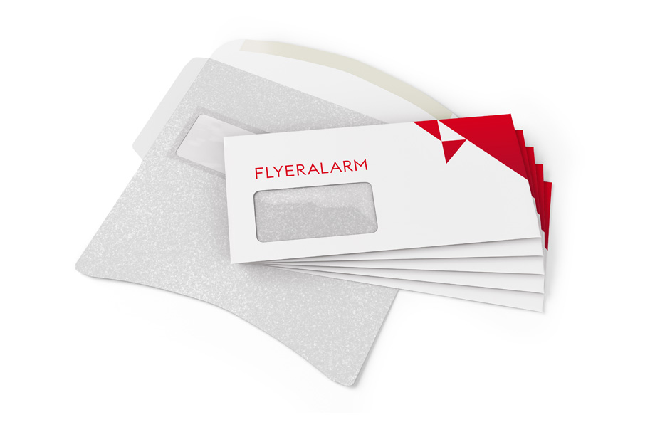 Envelopes, peel and seal