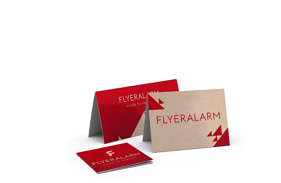 Greeting cards and invitations with premium finishes
