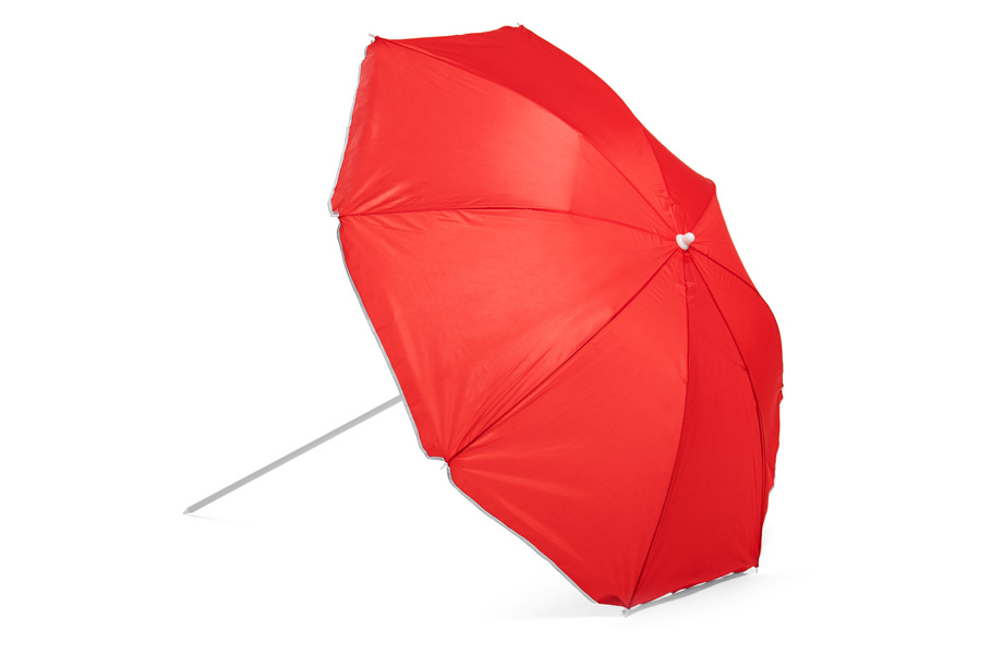 Sample beach umbrella