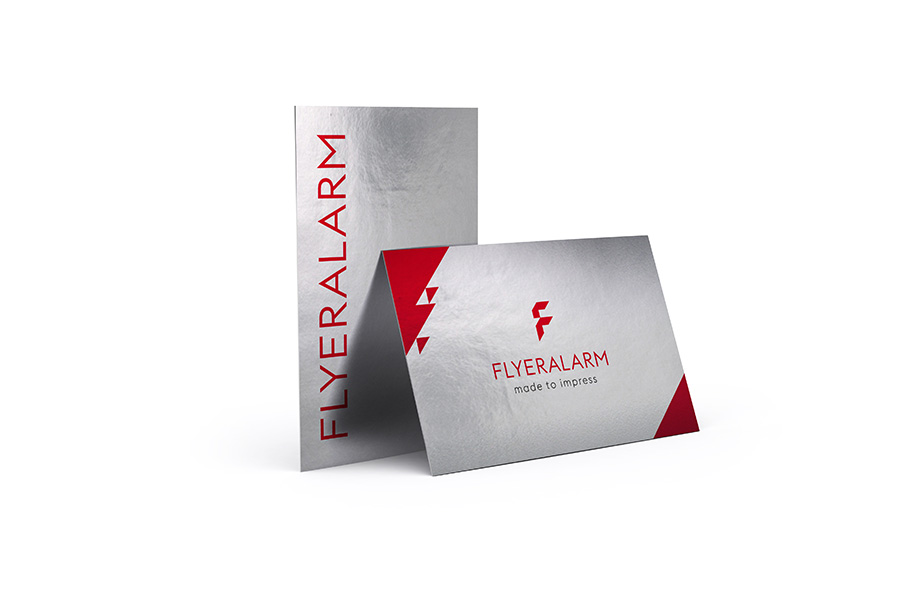 Business cards made from premium materials